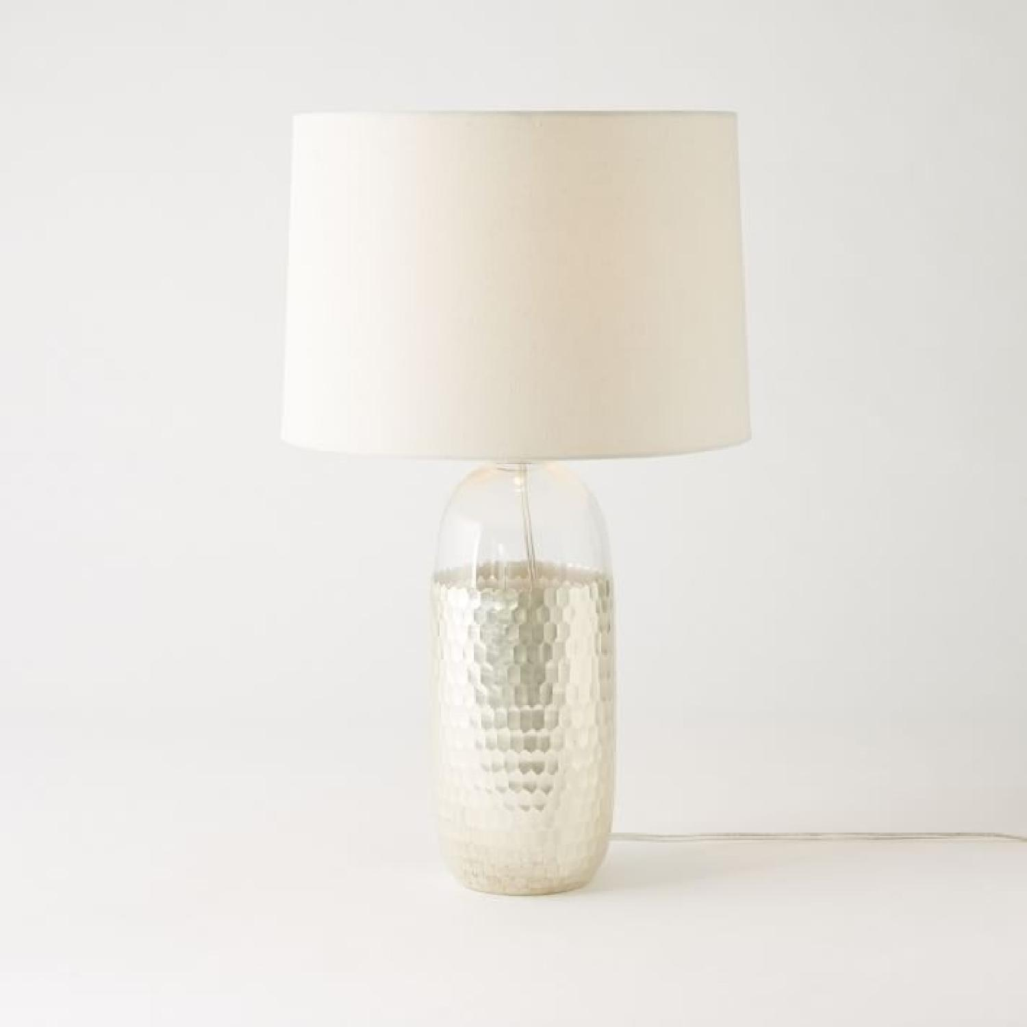 West Elm Metallic Table Lamp - image-3
