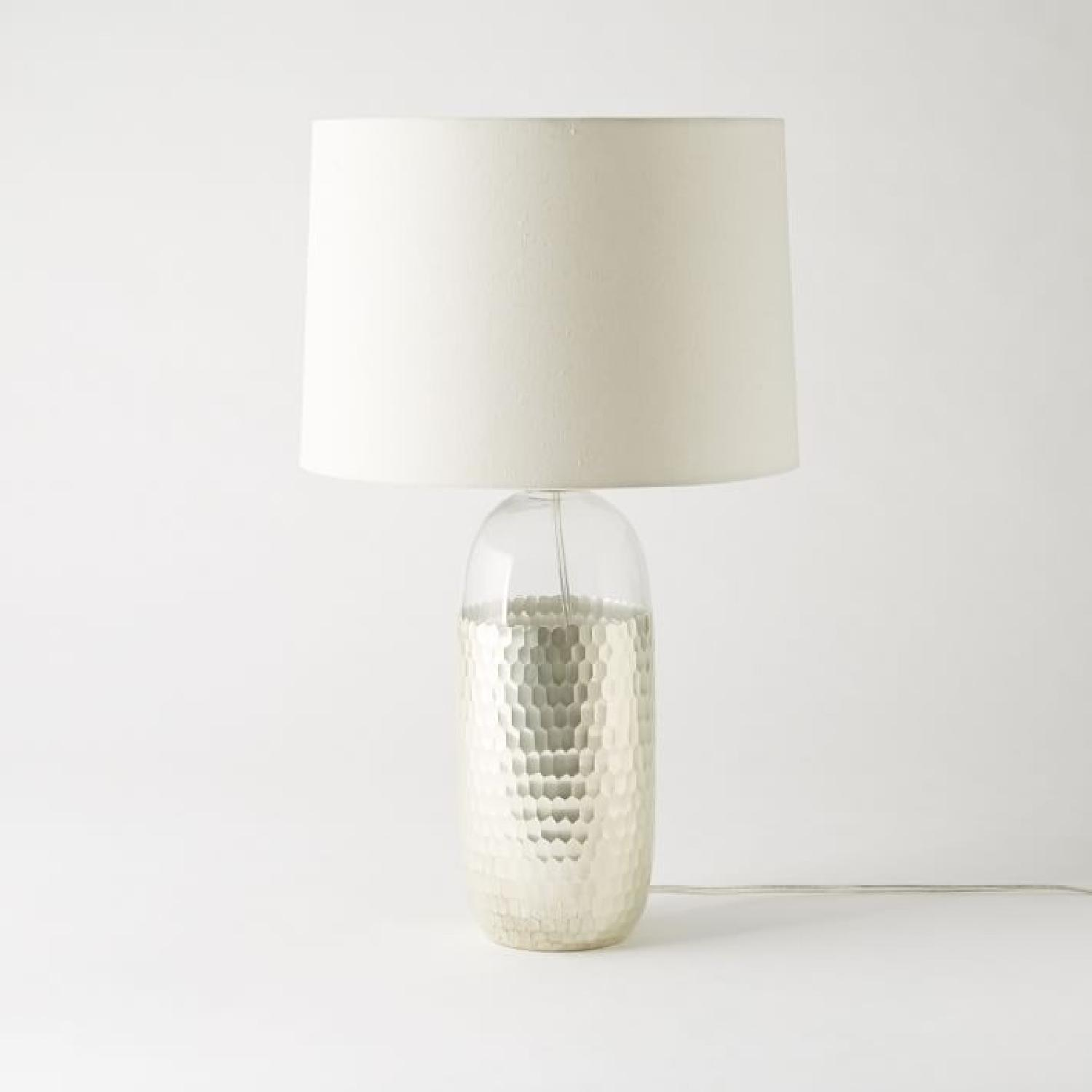 West Elm Metallic Table Lamp - image-5