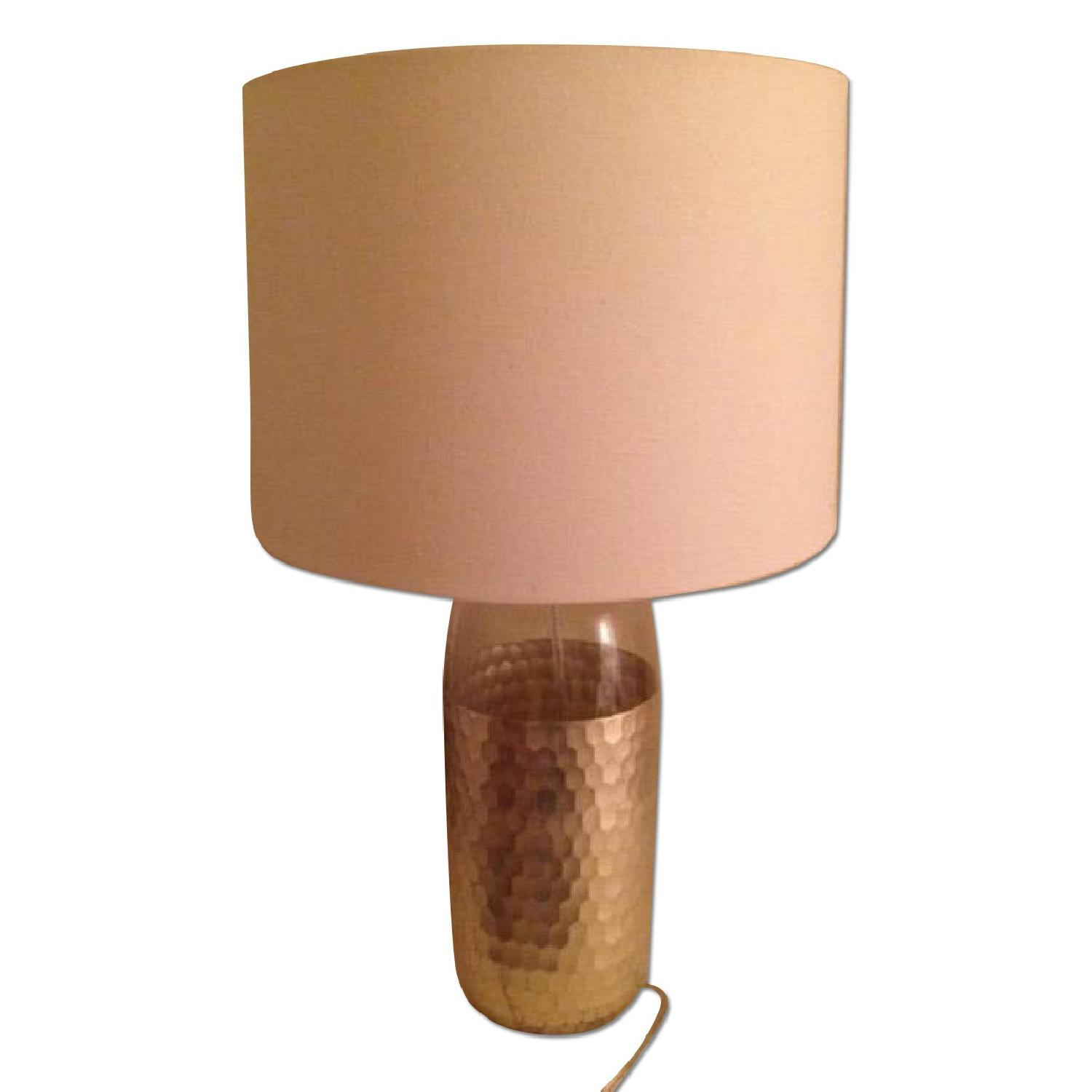 West Elm Metallic Table Lamp - image-0