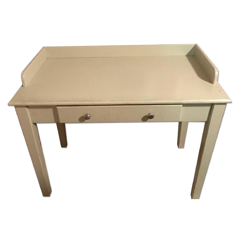 Wood Desk in White - image-0