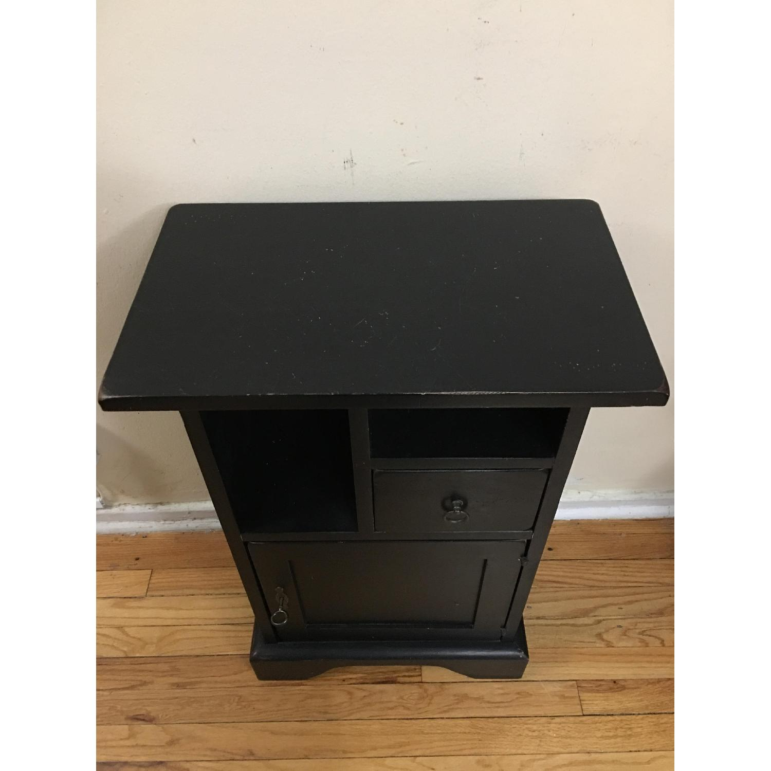 Ashley Black Painted Accent Table - image-4