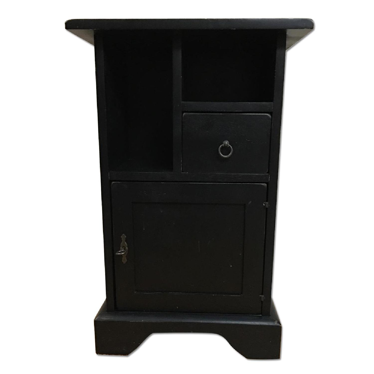Ashley Black Painted Accent Table - image-0