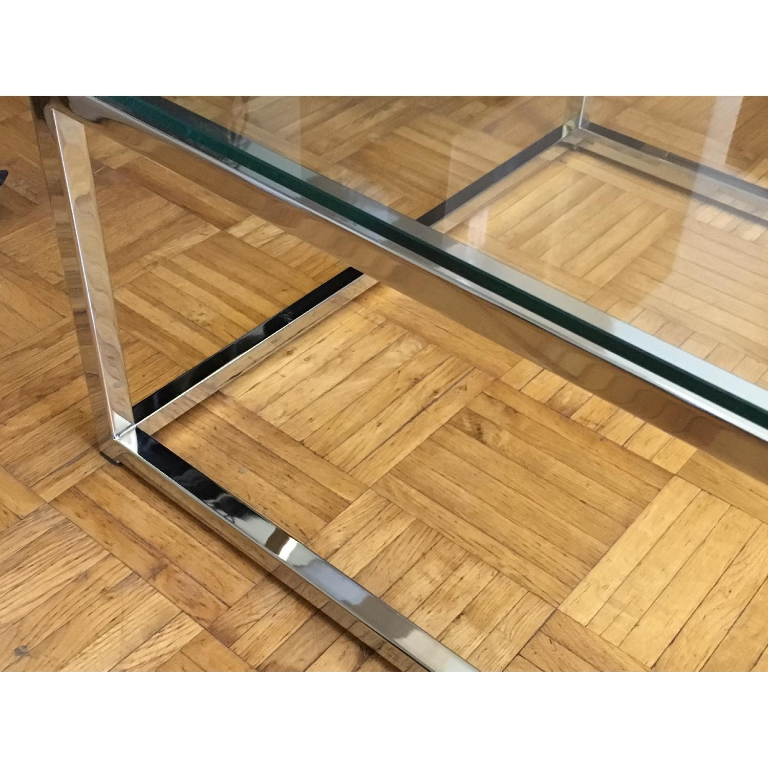 CB2 Smart Glass Top Coffee Table - image-2