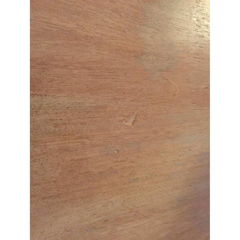 Mango Wood & Metal Coffee Table - image-4