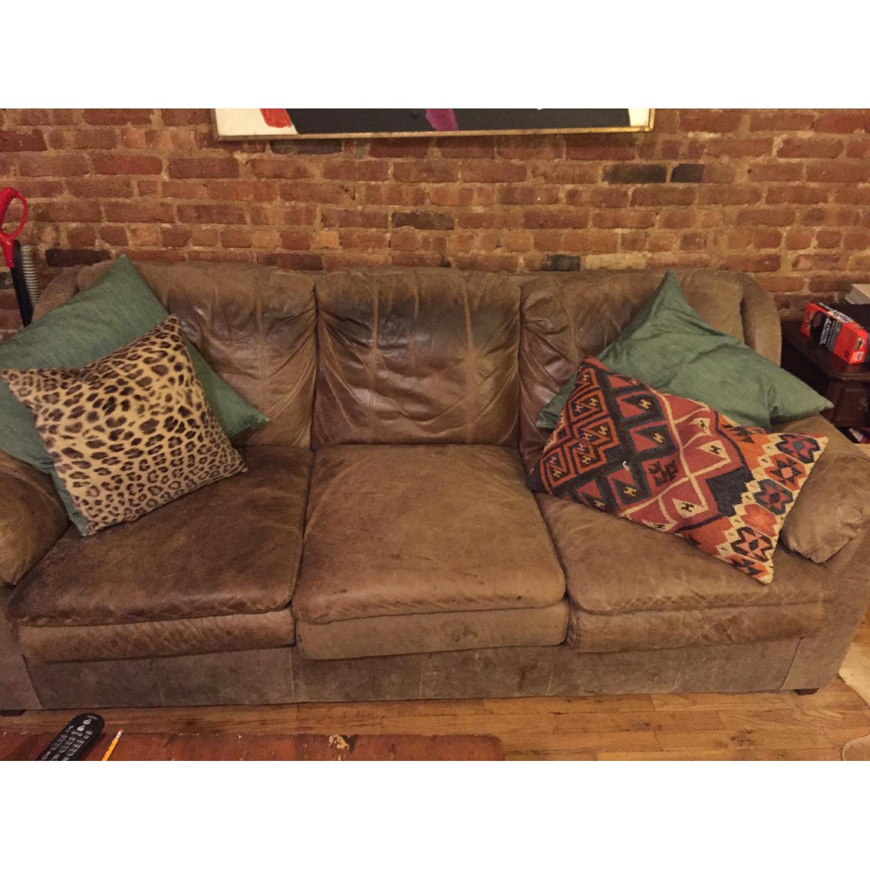 Leather Sofa - image-1
