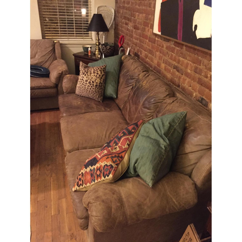 Leather Sofa - image-2