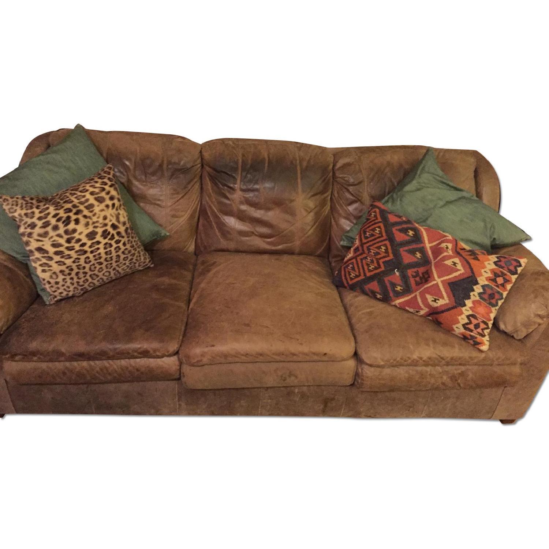 Leather Sofa - image-0