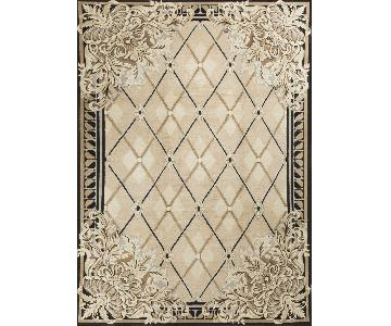 Modern Contemporary Hand Knotted Rug