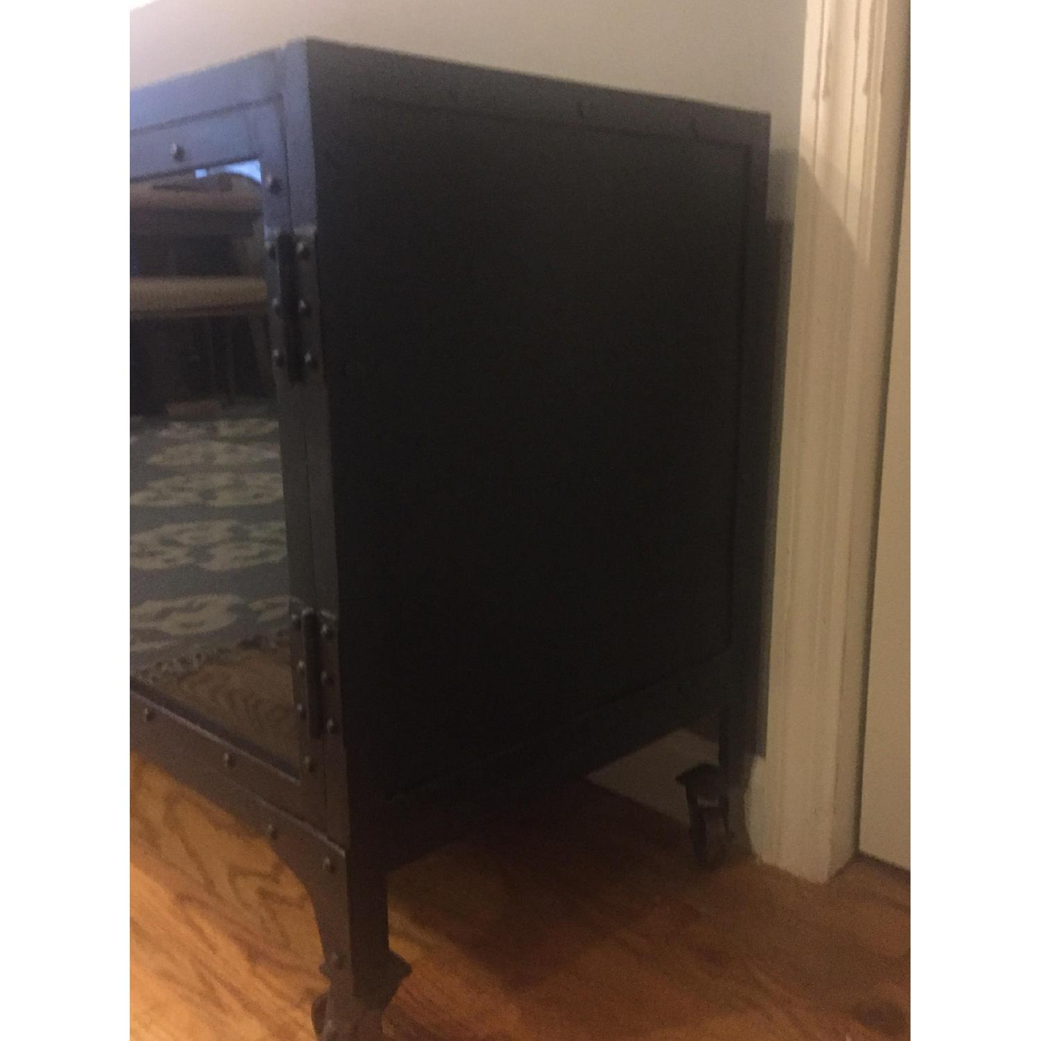 Industrial Metal Cabinet/TV Stand - image-2
