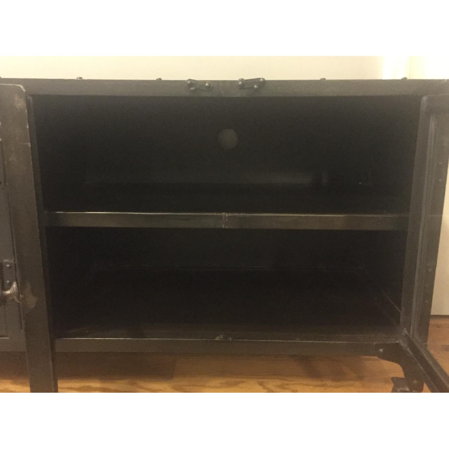 Industrial Metal Cabinet/TV Stand - image-8