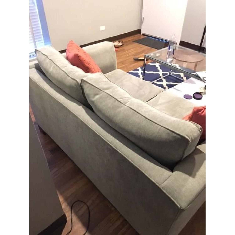 Macy's Kenton Fabric Love Seat - image-3