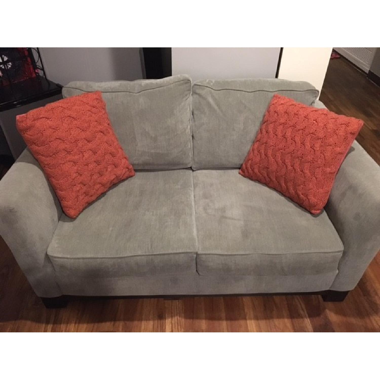 Macy's Kenton Fabric Love Seat - image-4