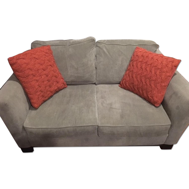 Macy's Kenton Fabric Love Seat - image-0