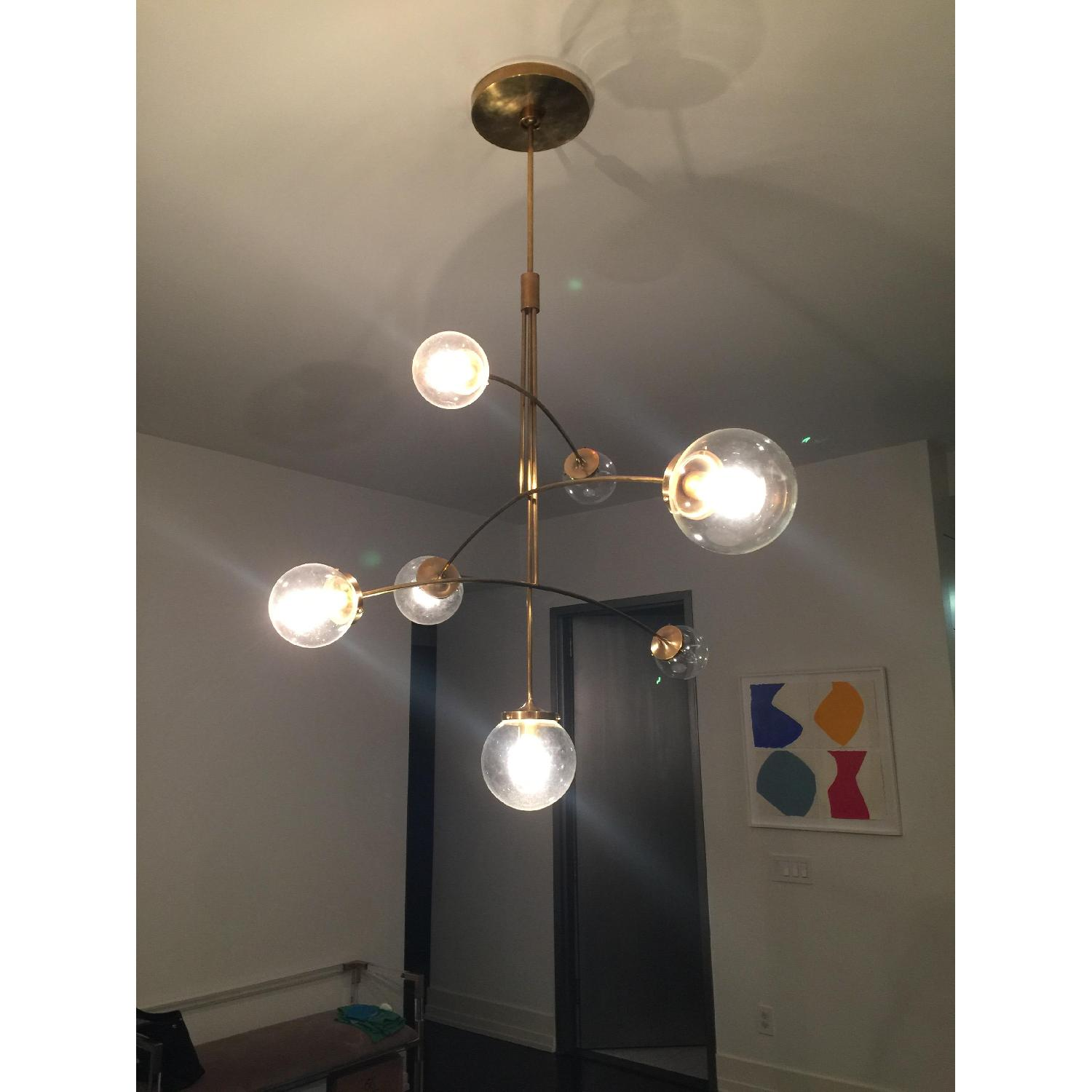 Kate Spade Prescott Large Mobile Chandelier in Soft Brass