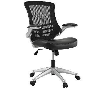 Manhattan Home Design Ergonomic Office Chair in Black