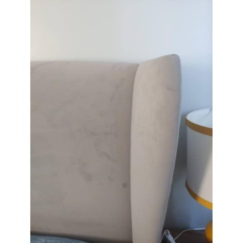 DwellStudio Linen Wingback King Bed-0