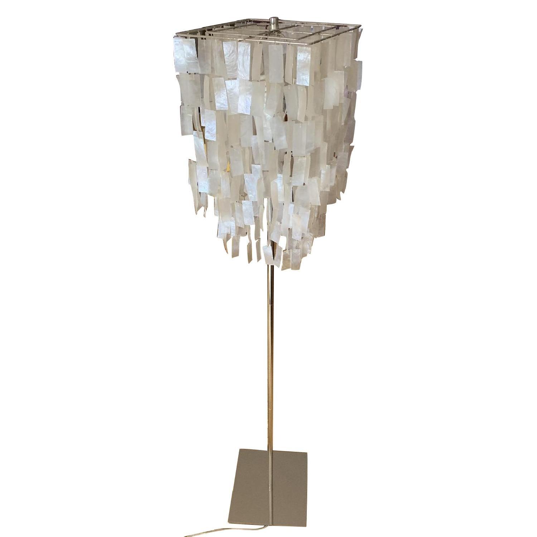 West Elm Capiz Floor Lamp