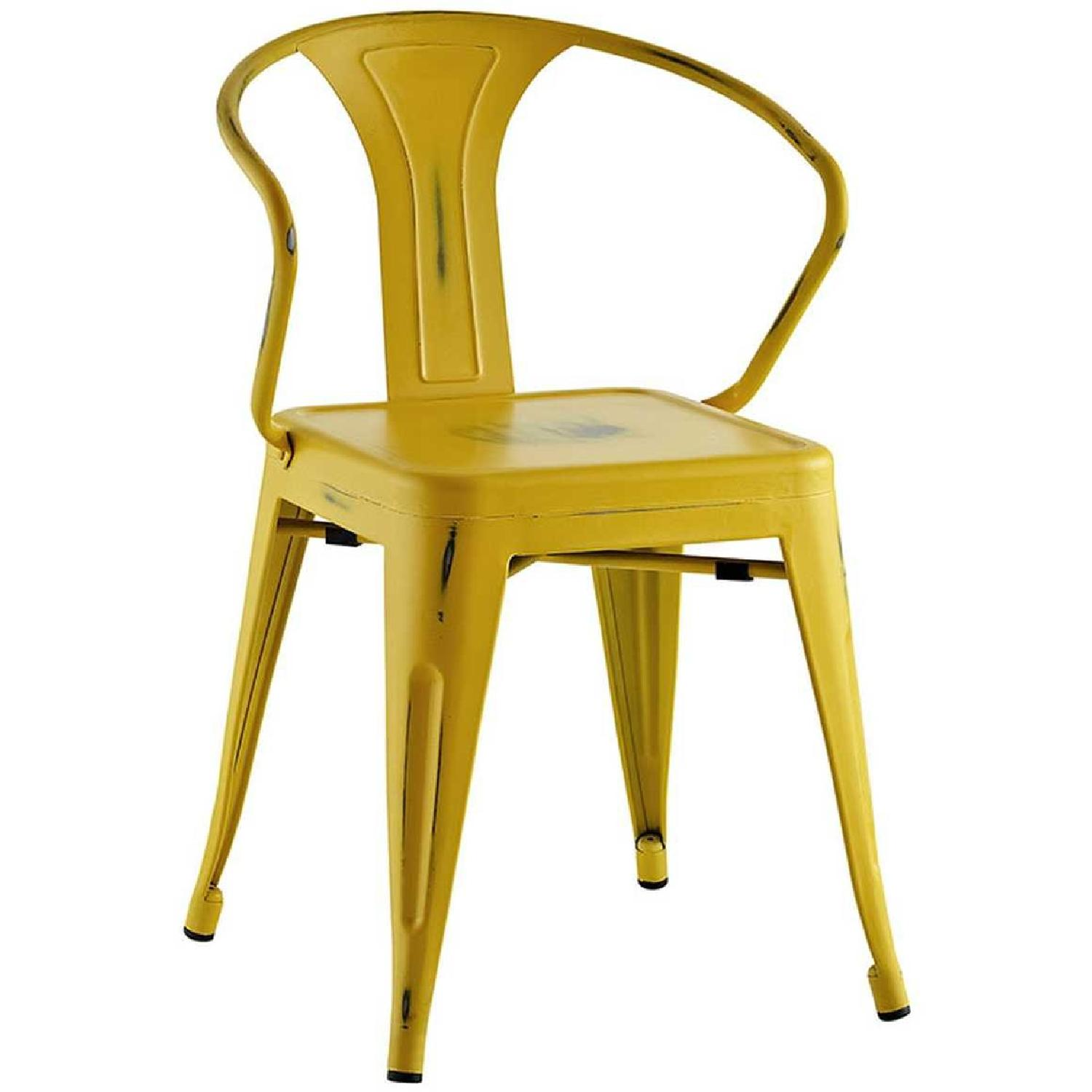 Modway Promenade Dining Chairs in Yellow