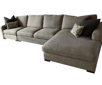 Room & Board Tatum L-Shape Sectional Sofa