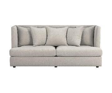 Crate & Barrel Milo Baughman Shelter Sofa