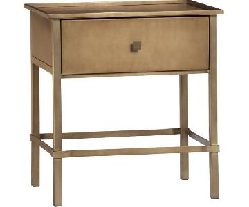 Crate & Barrel Neville Nightstands