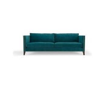 Mitchell Gold + Bob Williams Liam Emerald Velvet Sofa