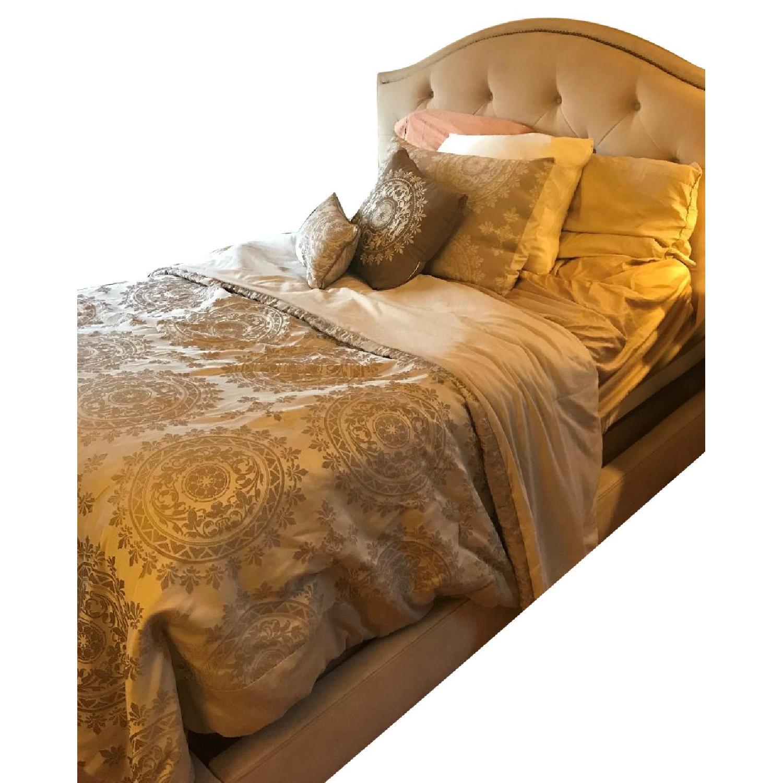 Macy's Full Size Upholstered Bed Frame