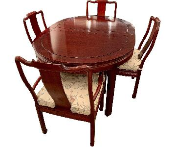 Asian Rosewood 9-Piece Dining Set