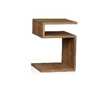 Crate & Barrel Entu Side Table