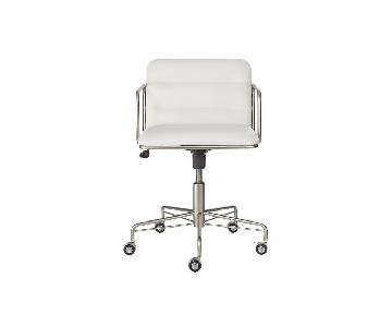 CB2 Adjustable Office Chair on Wheels