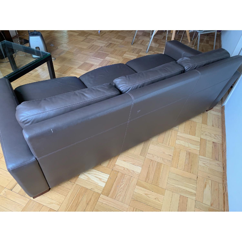 Design Within Reach Portola Leather Sofa - image-2