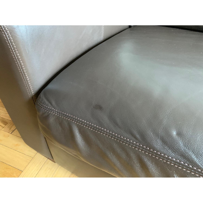 Design Within Reach Portola Leather Sofa - image-4
