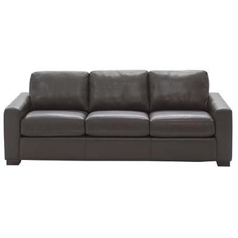 Design Within Reach Portola Leather Sofa - image-0