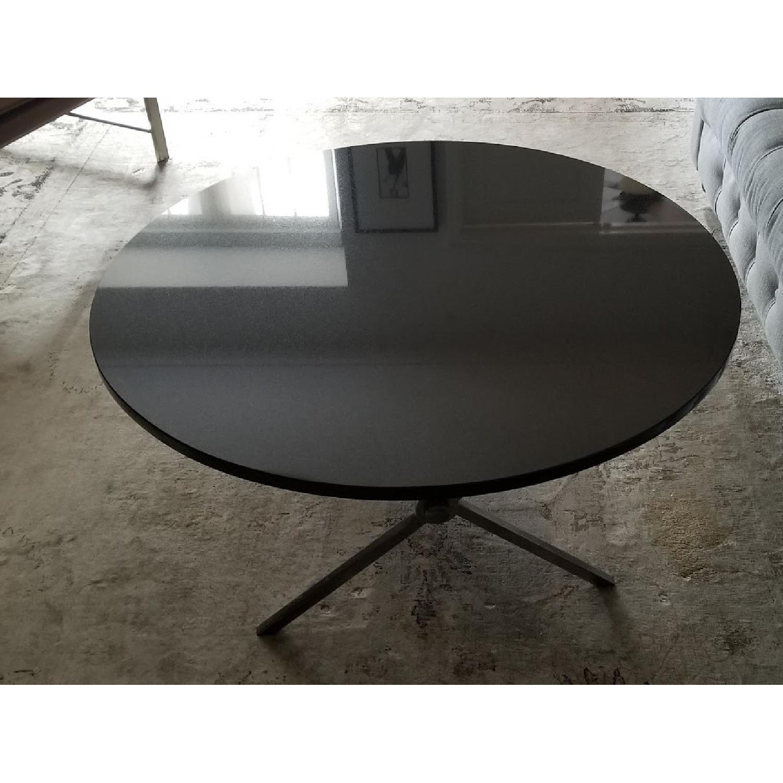 Bloomingdales Black Marble Top Coffee Table - image-1