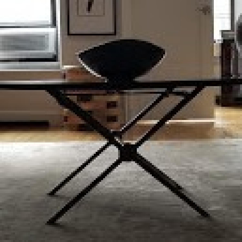 Bloomingdales Black Marble Top Coffee Table - image-2