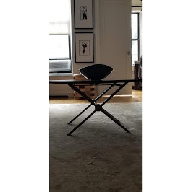 Bloomingdales Black Marble Top Coffee Table - image-3