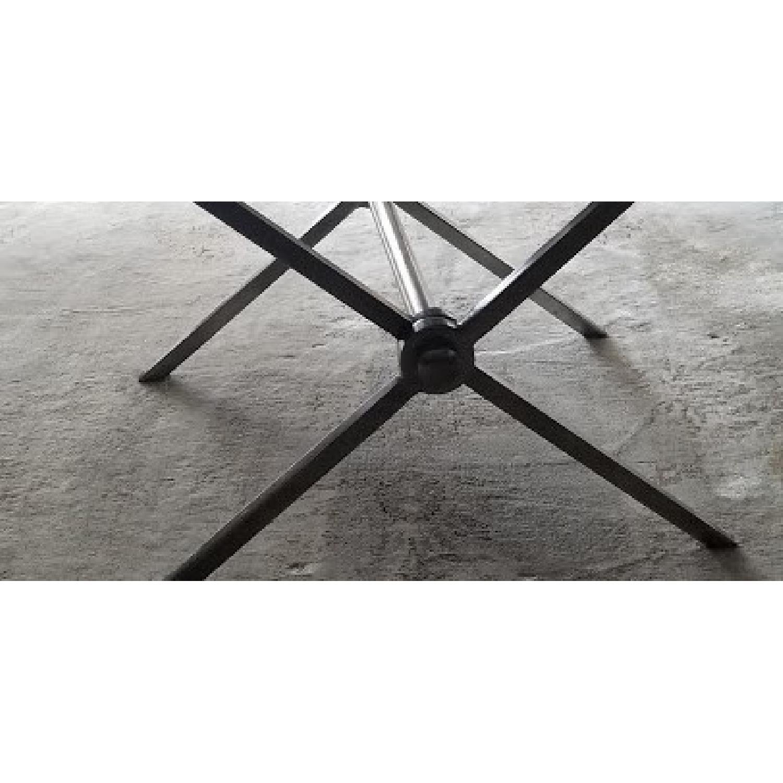 Bloomingdales Black Marble Top Coffee Table - image-4