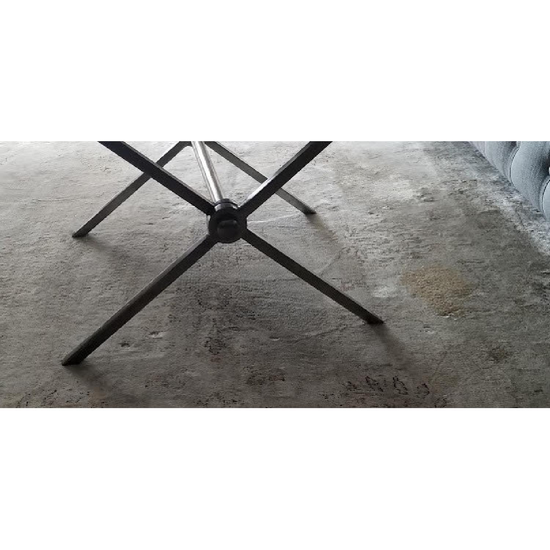 Bloomingdales Black Marble Top Coffee Table - image-5