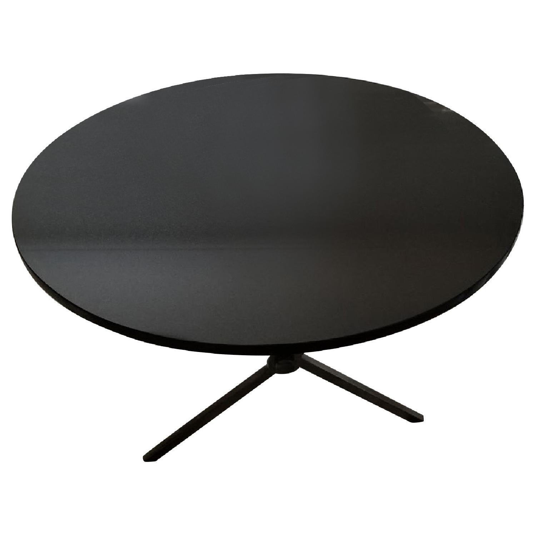 Bloomingdales Black Marble Top Coffee Table - image-6