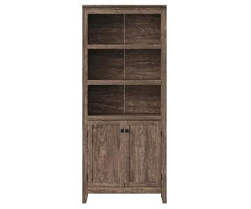 Target Threshold Carson 5 Shelf Bookcase w/ Doors