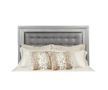 Samuel Lawrence Silver Tufted headboard