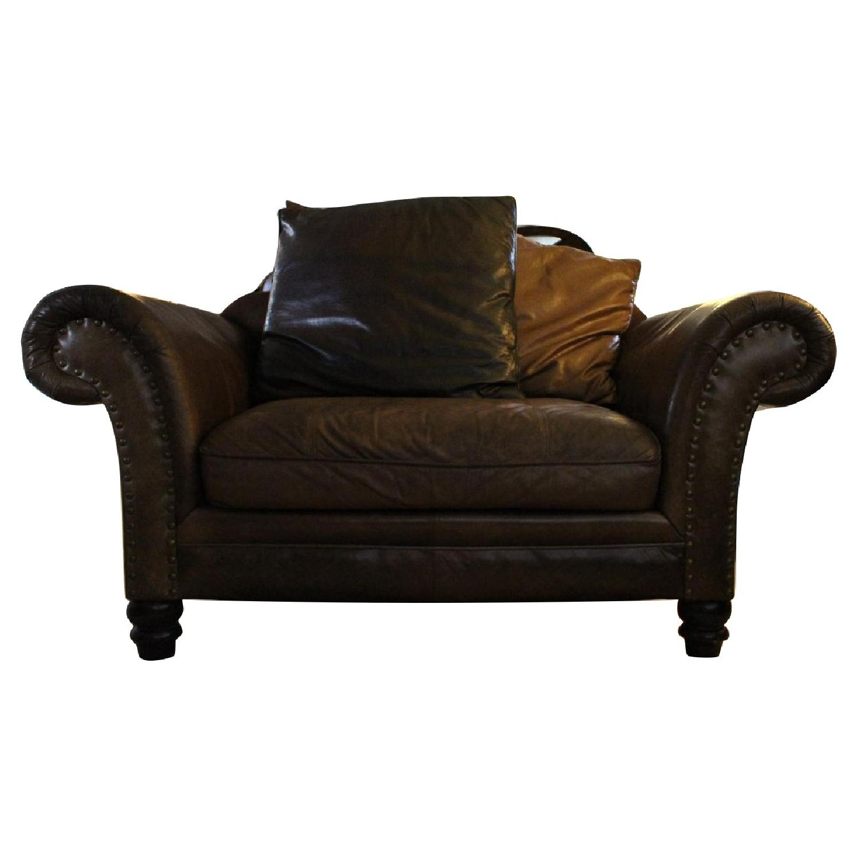 Surprising Vintage Bernhardt Bridgewater Style Leather Chairs Aptdeco Creativecarmelina Interior Chair Design Creativecarmelinacom