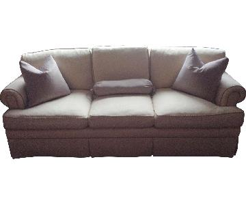 D&D Building Down Feather Sofa w/ Silk Lining