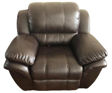 Bob's Brown Avenger Power Recliner