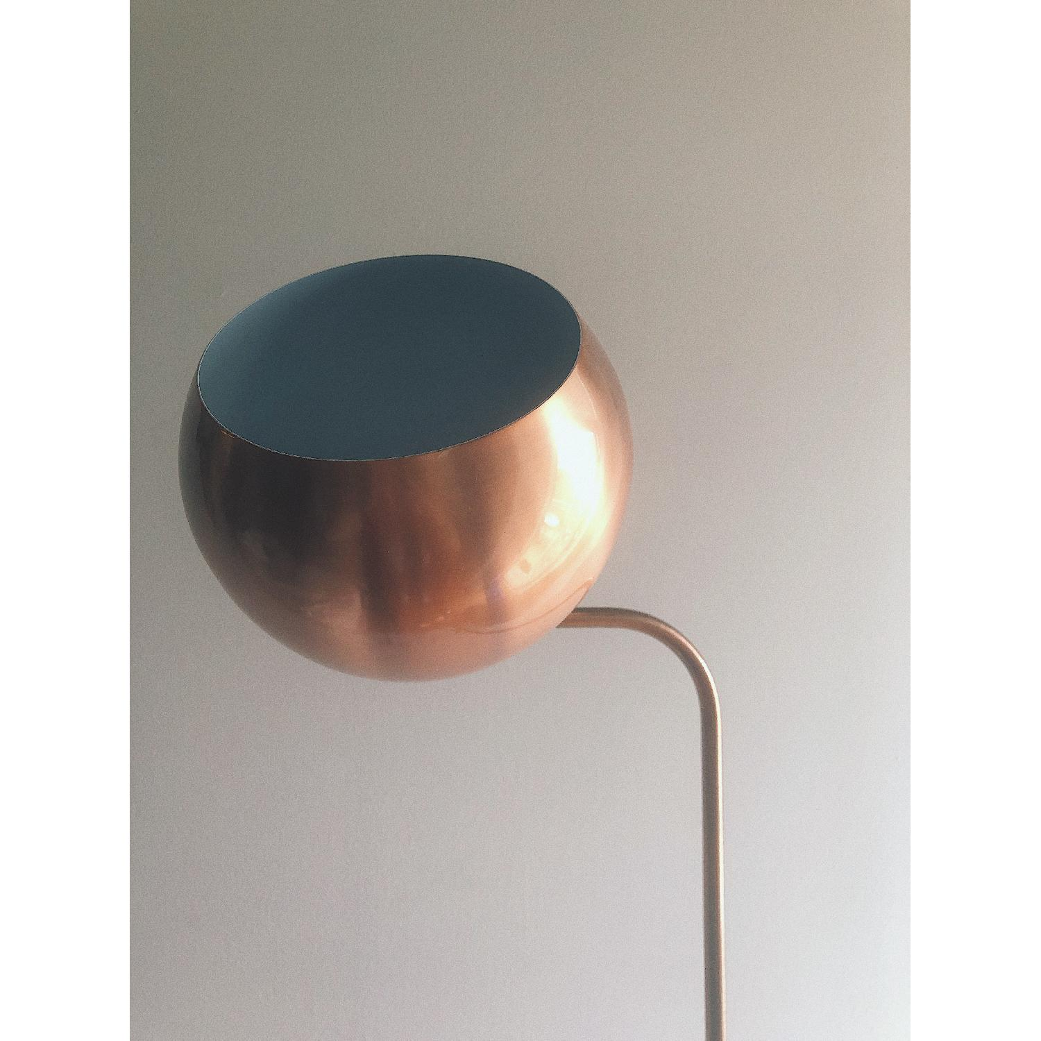 Urban Outfitters Adjustable Copper Floor Lamp-2