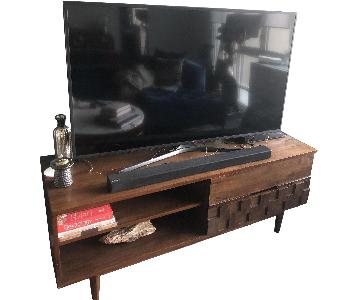 Carson Carrington Tessuto TV Stand