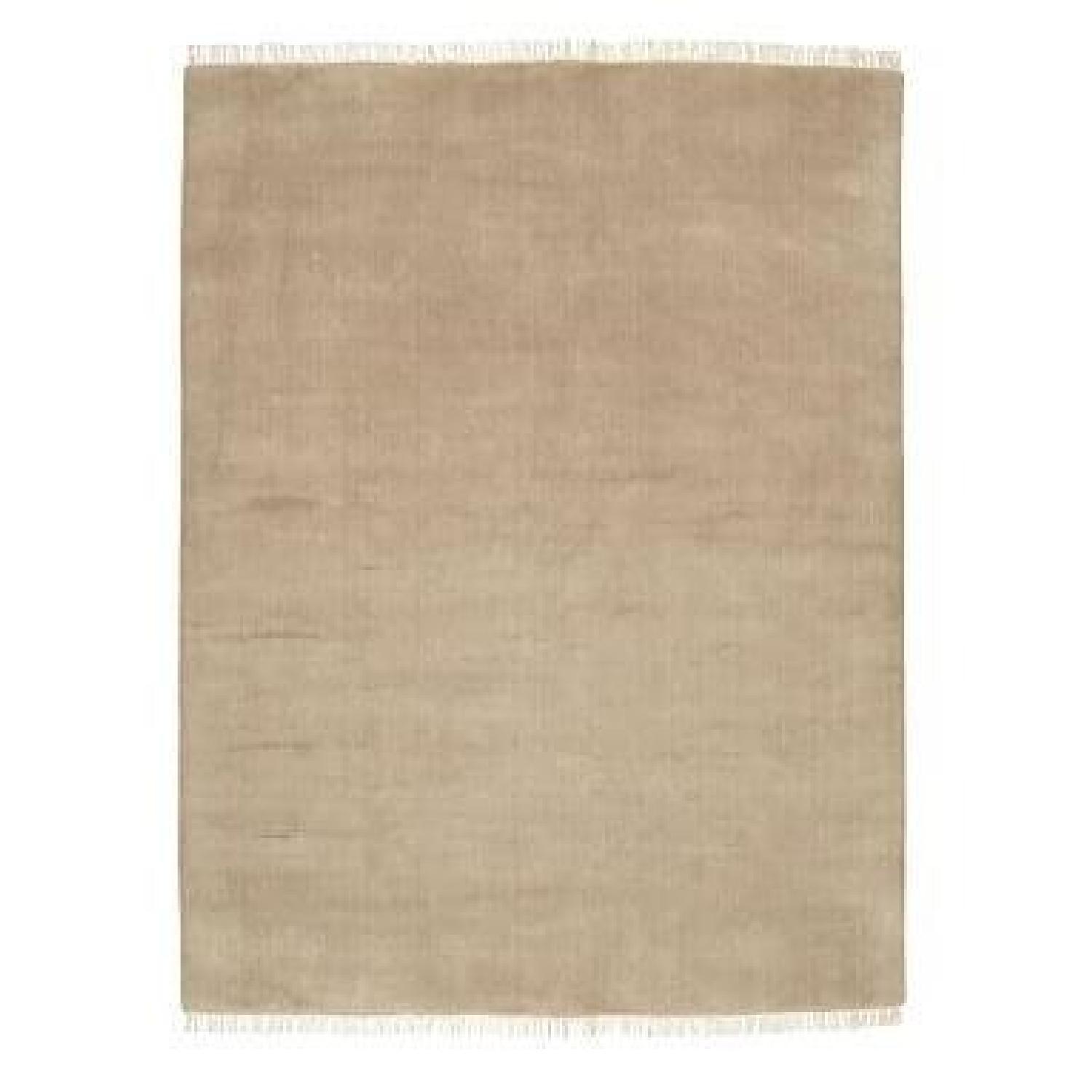 Pottery Barn Fringed Hand-Loomed Rug