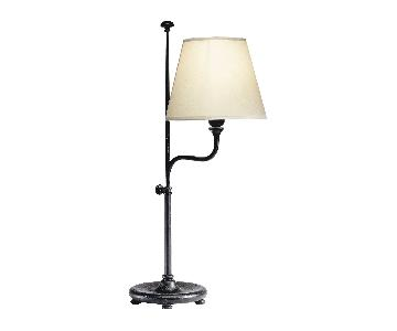 Ethan Allen Iron Adjustable Task Lamp