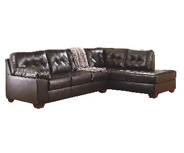 Ashley Alliston 2-Piece Sectional Sofa w/ Chaise