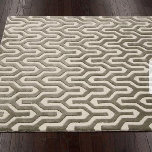 nuLOOM Handmade Trellis Natural Color Wool Rug - 8' x 10